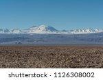 salar de atacama  salt flat ... | Shutterstock . vector #1126308002