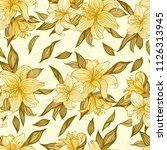 vector illustration. seamless... | Shutterstock .eps vector #1126313945
