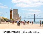 lisbon  portugal   july 22 ... | Shutterstock . vector #1126373312