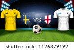 football cup 2018 world... | Shutterstock .eps vector #1126379192