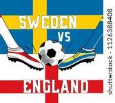 concept image for football... | Shutterstock .eps vector #1126388408