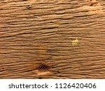 rough surface wood. beautiful... | Shutterstock . vector #1126420406