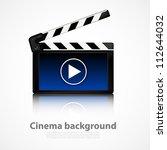 clapper board   Shutterstock .eps vector #112644032