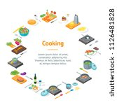 cooking or preparation food... | Shutterstock .eps vector #1126481828