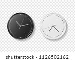 set of black and white modern... | Shutterstock .eps vector #1126502162