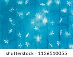 beautiful garland with little... | Shutterstock . vector #1126510055