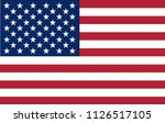 vector illustration of the flag ... | Shutterstock . vector #1126517105