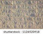 background wall of bricks   Shutterstock . vector #1126520918