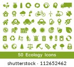 50 Ecology And Recycle Icons ...