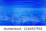 bright abstract illustration of ... | Shutterstock .eps vector #1126527932