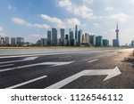 panoramic skyline and buildings ... | Shutterstock . vector #1126546112