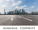 panoramic skyline and buildings ... | Shutterstock . vector #1126546115