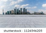 panoramic skyline and buildings ... | Shutterstock . vector #1126546205