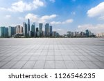 panoramic skyline and buildings ...   Shutterstock . vector #1126546235