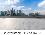 panoramic skyline and buildings ... | Shutterstock . vector #1126546238
