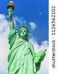 statue of liberty  liberty... | Shutterstock . vector #1126562102