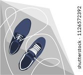 fashion shoes vector | Shutterstock .eps vector #1126572392