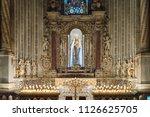 monreale  sicily  europe 10 06  ... | Shutterstock . vector #1126625705