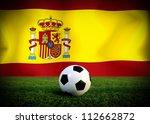 span soccer ball | Shutterstock . vector #112662872