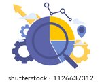 vector creative illustration of ... | Shutterstock .eps vector #1126637312