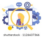 vector creative illustration of ... | Shutterstock .eps vector #1126637366