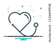colorful icon for healthcare | Shutterstock .eps vector #1126649948