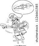 An Illustration Of A Cartoon...