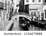 venice  italy   september 17 ... | Shutterstock . vector #1126673888