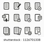 vector document file format... | Shutterstock .eps vector #1126701338