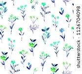 seamless pattern of hand made... | Shutterstock . vector #1126704098