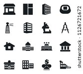 set of simple vector isolated... | Shutterstock .eps vector #1126721672