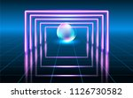abstract fantastic background... | Shutterstock .eps vector #1126730582