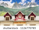 old chamonix train station  les ... | Shutterstock . vector #1126770785