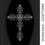 Christian Cross Design Vector...