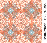seamless ethnic pattern with... | Shutterstock .eps vector #1126783556