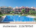 palma de mallorca  spain  ... | Shutterstock . vector #1126789565