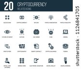 simple set of 20 cryptocurrency ...