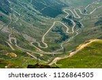 landscape in fagaras mountains...   Shutterstock . vector #1126864505