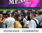moscow  russia   june 29  2018  ... | Shutterstock . vector #1126866542
