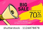 super sale  big sale this... | Shutterstock .eps vector #1126878878