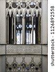 elevador de santa justa in... | Shutterstock . vector #1126892558