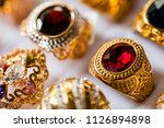 beautiful jewelry show for sale ...   Shutterstock . vector #1126894898
