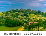 scenic view at picturesque...   Shutterstock . vector #1126911992