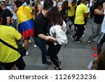 moscow  russia   june 23  2018  ... | Shutterstock . vector #1126923236