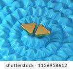 left right mark icon on...   Shutterstock . vector #1126958612