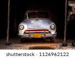 havana   february 12  classic... | Shutterstock . vector #1126962122