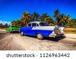 vinales  february 4  classic... | Shutterstock . vector #1126963442