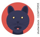 feline  a cat or other member... | Shutterstock .eps vector #1126975955
