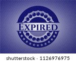 expired jean background | Shutterstock .eps vector #1126976975