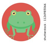 toad is a common name for... | Shutterstock .eps vector #1126985066